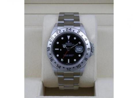 Rolex Explorer II Automatic Chronometer Black Dial 40mm 16570