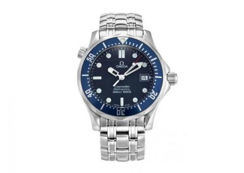 OMEGA SEAMASTER 300M BOND BLUE WAVE DIAL MIDSIZE 2561.80.00