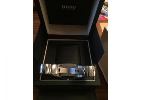 RADO SINTRA XL MENS PLATINUM CERAMIC SWISS CHRONOGRAPH 538.0434.3.015