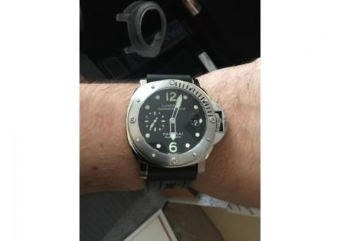 OFFICINE PANERAI LUMINOR SUBMERSIBLE AUTOMATIC ACCIAIO 44MM PAM 00024