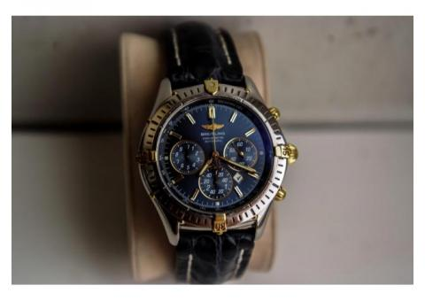 BREITLING WINDRIDER SHADOW FLYBACK CHRONOGRAPH BLUE DIAL B35312